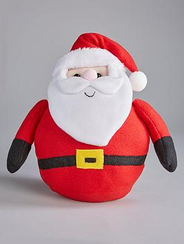 Very  Fat Santa Christmas Decoration