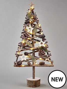 lit-wood-effect-frosty-table-top-christmas-tree