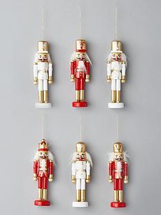 set-of-6nbspnutcracker-hanging-christmas-tree-decorations
