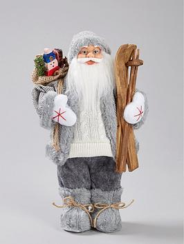 grey-standing-santa-christmas-decoration