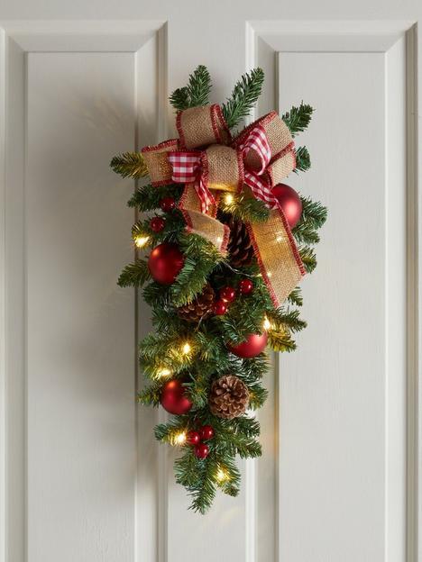 bows-amp-baubles-teardrop-shape-lit-christmas-wreathdoor-hanger