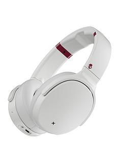 4e45f9bc2873d5 Skullcandy VENUE Bluetooth Over-Ear Headphones with Active  Noise-Cancelling, Rapid Charge and up to 24 Hours of Battery Life - Vice  White
