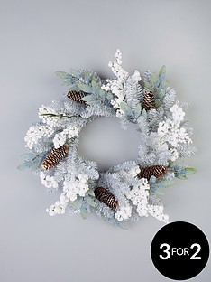 silver-grey-and-white-berry-door-wreath-ndash-60-cm