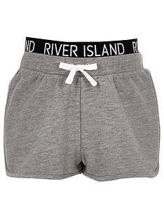 river-island-girls-ri-waistband-runner-shorts-grey