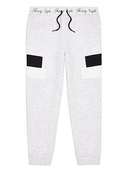river-island-boys-panel-joggers-grey-marl