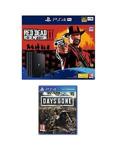 playstation-4-pro-red-dead-redemption-2-ps4-pro-bundle-with-days-gone-with-optional-extras
