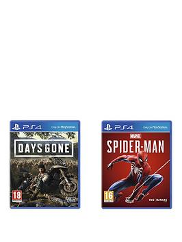 playstation-4-days-gone-and-marvels-spider-man-twin-pack-ps4