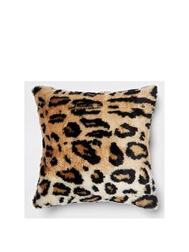 river-island-faux-fur-leopard-print-cushion
