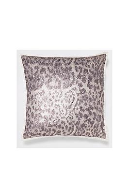 river-island-leopard-sequin-cushion