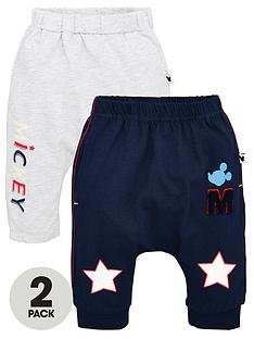 mickey-mouse-baby-boys-2-pack-joggers-greynavy