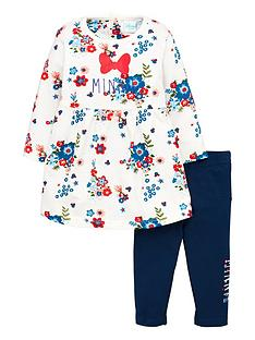 minnie-mouse-baby-girls-floral-outfit-multi