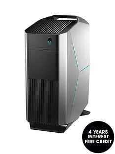 alienware-aurora-r8-intelreg-coretrade-i7-8700-6gb-nvidia-geforce-gtx-1060-graphics-16gb-ddr4-ram-1tb-hdd-amp-128gb-ssd-gaming-pcnbsp--silver