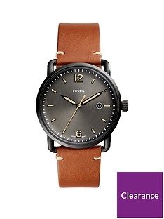 fossil-fossil-black-sunray-dial-tan-leather-strap-mens-watch