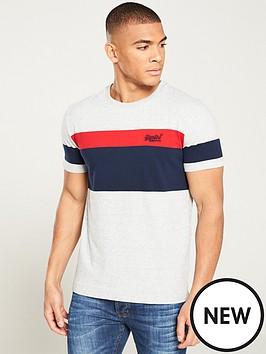 superdry-orange-label-chestband-t-shirt-greynavyred