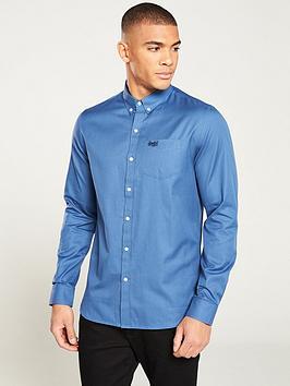 superdry-classic-london-long-sleeved-shirt-blue