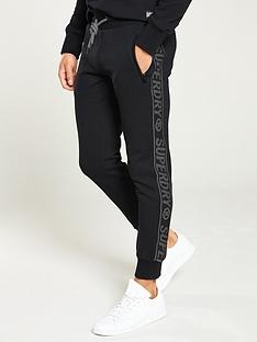 superdry-universal-tape-jogger-black