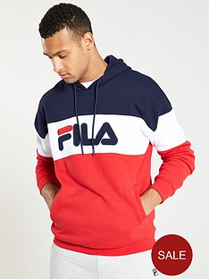 fila-rayton-fleece-hoodie-navywhitered