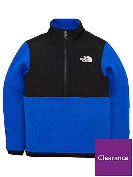 the-north-face-youth-glacier-blocked-14-zip-top-blue