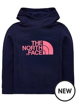 the-north-face-girls-drew-peak-hoodie-navypink