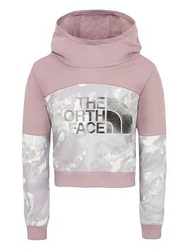 the-north-face-girls-cropped-hoodie-lilacprint