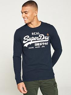 superdry-vintage-logo-long-sleeved-t-shirt-navy