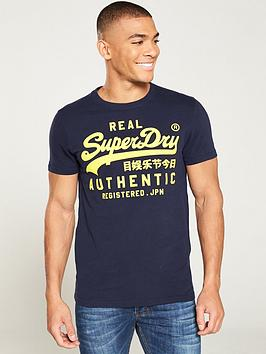 superdry-vintage-authentic-fluoro-t-shirt-navy