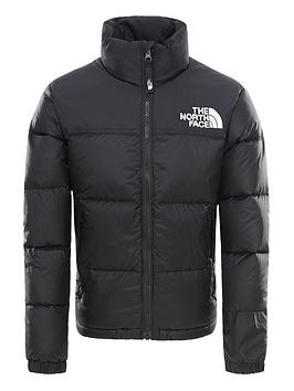 The North Face The North Face Youth 1996 Retro Nuptse Down Jacket - Black Picture
