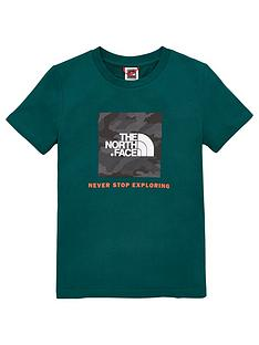 the-north-face-youth-box-short-sleeve-tee-green