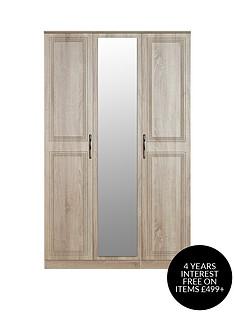 swift-winchester-part-assembled-3-door-mirrored-wardrobe