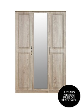 swift-winchester-part-assembled-3-door-mirrored-wardrobe