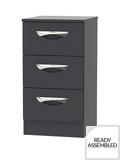 swift-canterbury-ready-assembled-3-drawer-bedside-cabinet