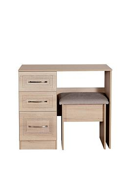 Swift Swift Winchester Ready Assembled Vanity Table And Stool Set Picture
