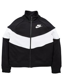 nike-sportswear-girls-heritage-colour-block-full-zip-jacket-blackgrey