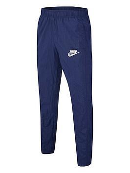 nike-sportswear-kids-woven-pants-navywhite