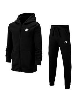 Nike Nike Kids Nsw Core Tracksuit Jogger Set - Black Picture