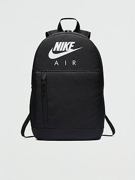Nike Nike Air Kids Backpack With Free Pencil Case - Black/White Picture