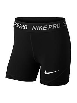Nike Nike Pro Girls Boy Shorts - Black Picture