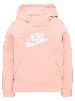nike-sportswear-girls-hoodie-pinkwhite