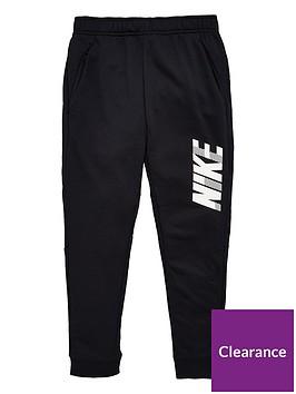 nike-kids-dry-gfx-tapered-pants-blackwhite