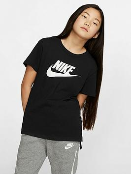 Nike Nike Sportswear Basic Futura T-Shirt - Black/White Picture
