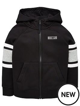 nike-air-kids-full-zip-hoodie-black