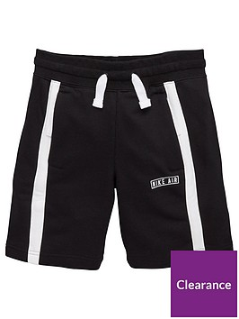 nike-air-kids-shorts-blackwhite