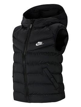 nike-sportswear-kids-filled-gilet-blackwhite