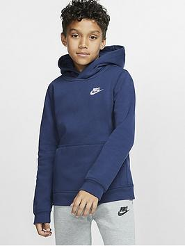 Nike Nike Kids Nsw Overhead Hoodie Club - Navy/White Picture