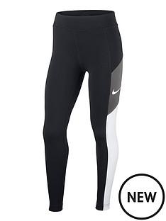 nike-girls-heritage-colourblock-trophy-leggings-blackgrey