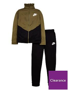 nike-sportswear-core-ply-futura-tracksuit-greenblack