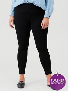 junarose-curve-siska-leather-side-panel-leggings-black
