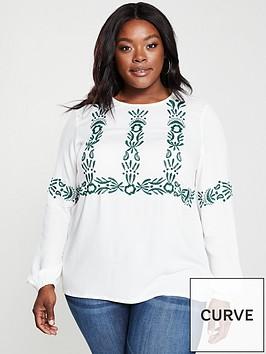 junarose-delli-long-sleeve-blouse-white