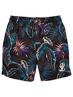 illusive-london-boys-floral-swim-shorts-navy