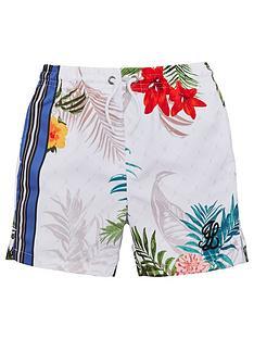 illusive-london-boys-botanical-swim-shorts-white